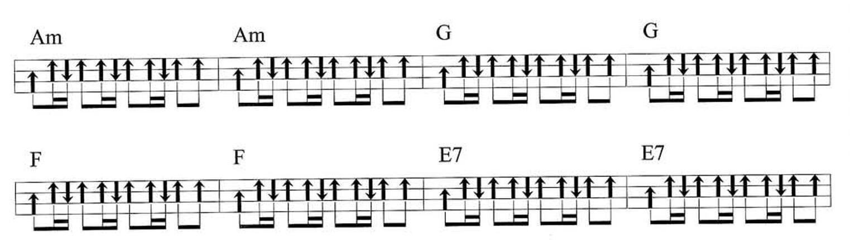 March和弦变换练习