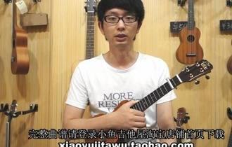 《明天会更好》ukulele弹唱教学BY小鱼