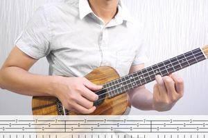 小鱼《夜空中最亮的星》ukulele弹唱讲解