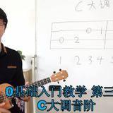 小鱼入门教学:第三课《C大调音阶》