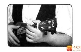 正确的持琴姿势和拨弦方法