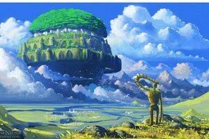 《天空之城》尤克里里指弹教学_单音版&琶音版
