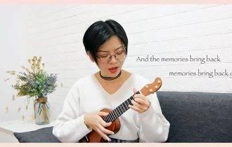 《Memories》尤克里里谱_弹唱视频演示_C调弹唱谱