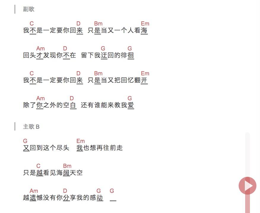 TODO《失落沙洲》尤克里里谱-2